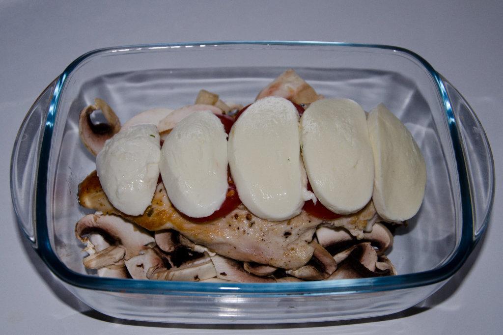 Mozzarella Hähnchen 3