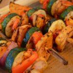 vegane Grillspieß Lagerküche